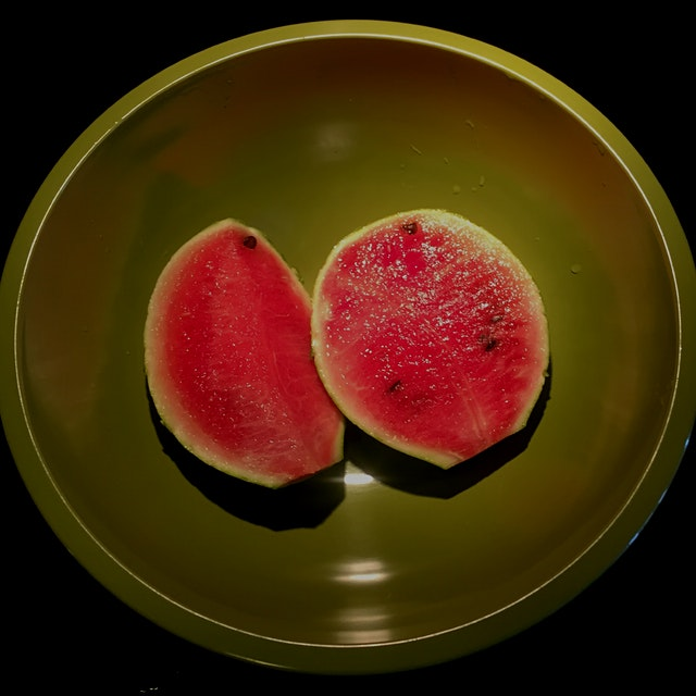 Roofgrown watermelon