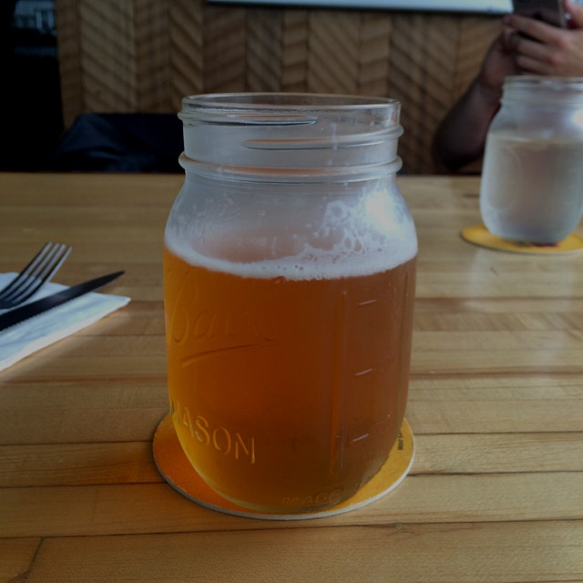 The 1811 Lager at the Fort George Brewery in Astoria, Oregon. First beer after doing the Hood to ...