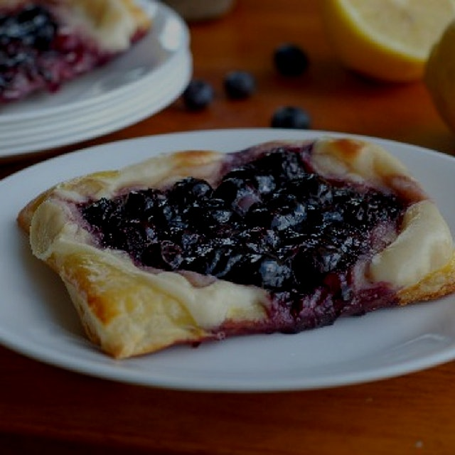 Blueberry Cream Cheese Pastries from my food blog!