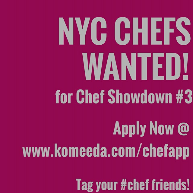 Our upcoming Chef Showdown is the works. Looking for creative culinary talents to showcase their ...