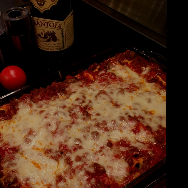 Labor Day lasagna, anyone? An Italian New Yorker told me one of the secrets to great lasagna: Add...