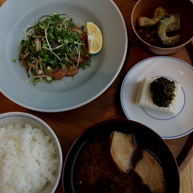 d47の大分定食 - the Ōita Lunch Set at d47 #shibuya #Tokyo #noms #hikarie #東京 #渋谷 #ヒカリエ
