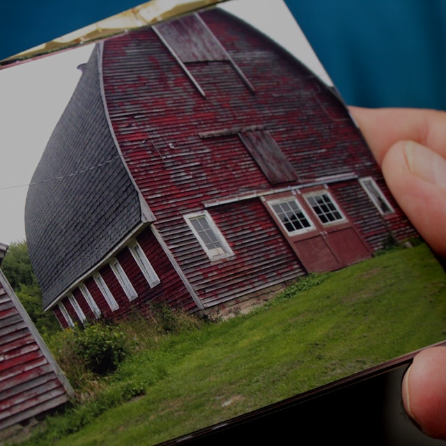 The farmhouse my grandfather built back in the 1950s...a testament to the history of farming thro...