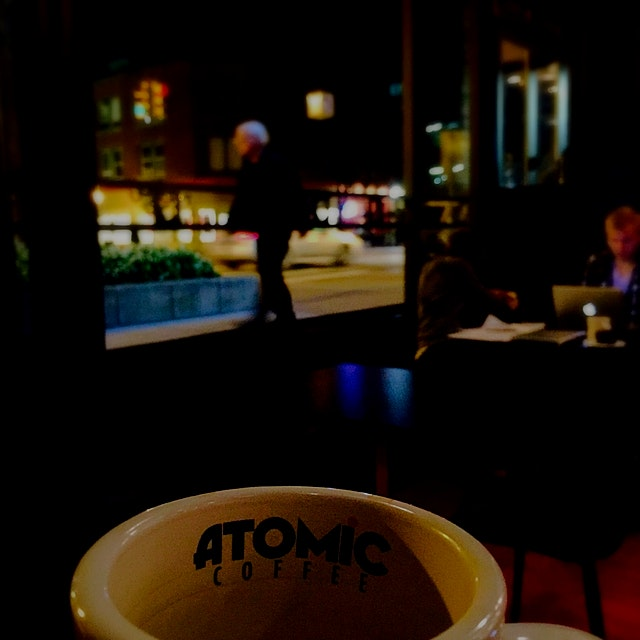 New locally sourced coffee joint in Downtown Royal Oak, MI... Atomic Coffee is a GREAT place to g...