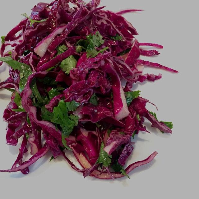 Leftover cabbage? Make a salad! #nofoodwaste