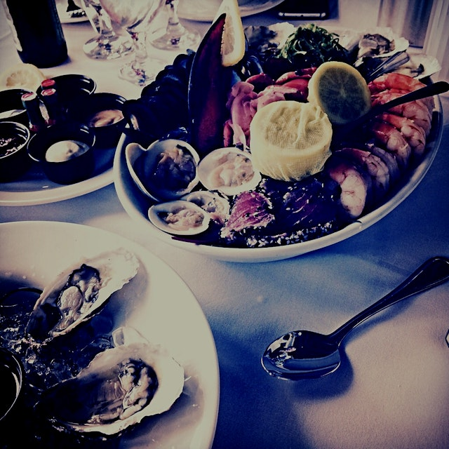 Seafood Brunch on the Water....