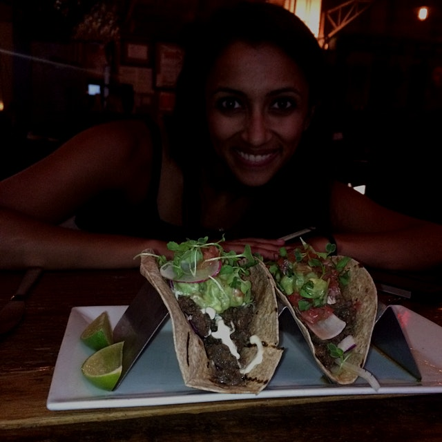 Bulgogi tacos with Mrs. Foodstand herself! @Rachna @Nainiac @Rameshgovani