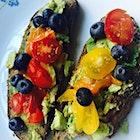 Early morning avocado nourishment #NationalBreakfastMonth