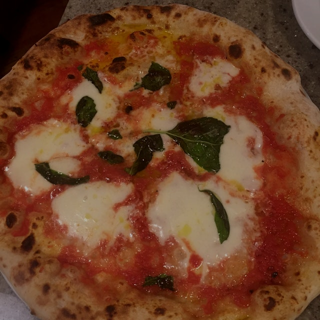 Surprise in Indiana.  Amazing Neapolitan pizza with house made mozz