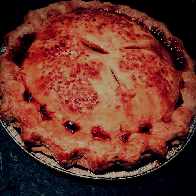 No Thanksgiving would be complete without dessert - Apple Pie courtesy of Baked, Tribeca