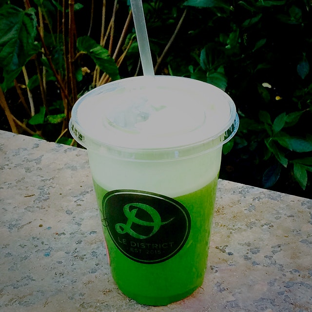 Buy a delicious fresh juice at Le District in Brookfield Place this weekend and receive a free vo...
