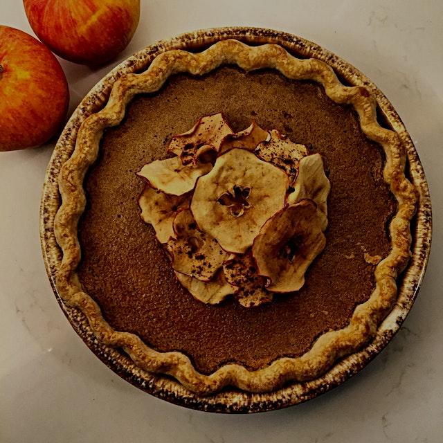 When is pumpkin pie not pumpkin pie?  When it's Apple Butter Pie! Thick, homemade apple butter re...
