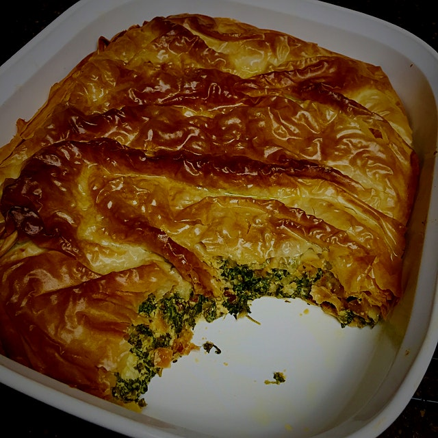 Herb Pie from  the Jerusalem Cookbook! Love this recipe!!!