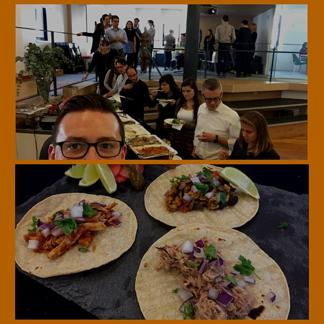 It's Taco Thursday at Purpose! Thanks to Chef Flo and team for a fantastic and delicious day.