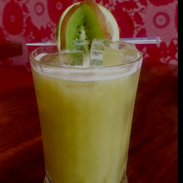 The Qing Cocktail. #GreenYoSelf @FoodDay2015