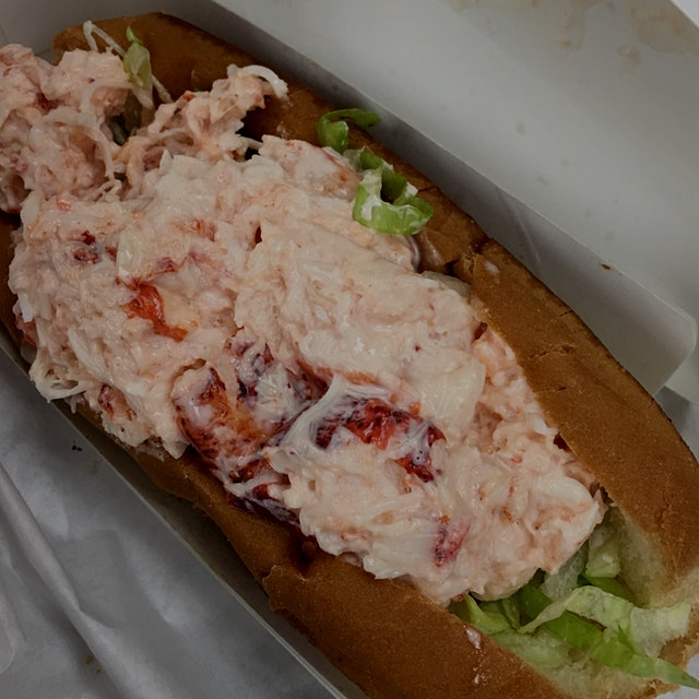 Truck stop lobster roll