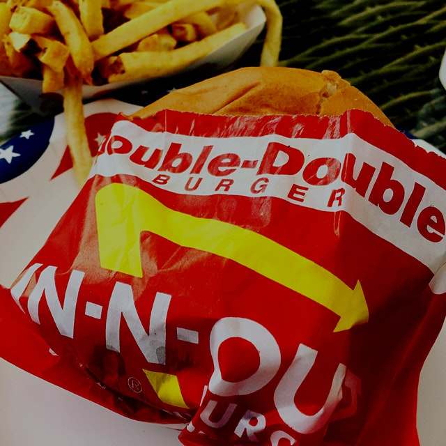 "No trip to L.A. would be complete without a stop at In & Out Burger! ""Those are good burgers, Dud..."