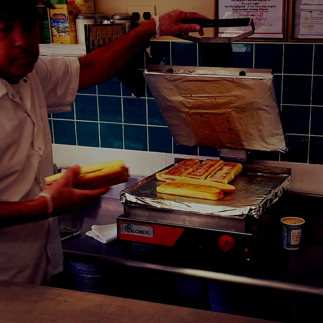 """Cubanos (the sandwich, not the people) in Lyndhurst, NJ?! Try out Andris """"The Cuban Sandwich King..."""